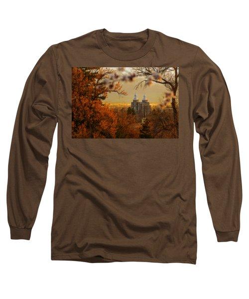 Logan Temple Long Sleeve T-Shirt by Dustin  LeFevre