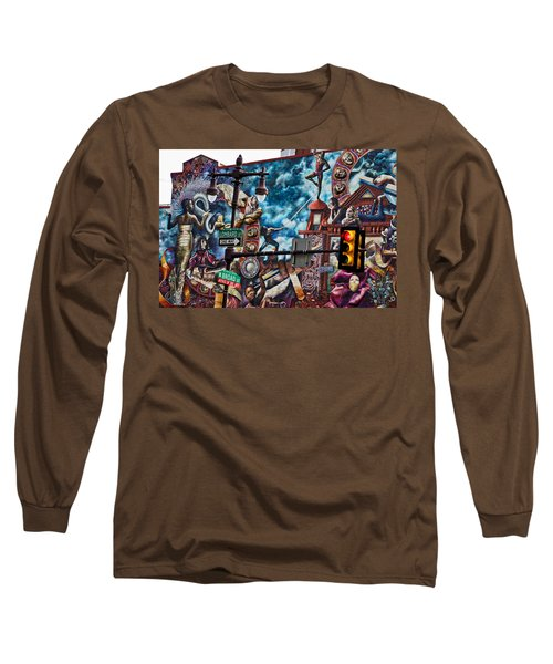 Lombard And Broad Long Sleeve T-Shirt