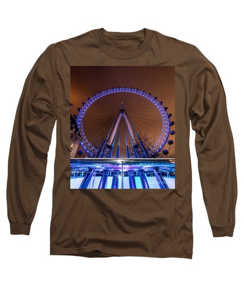 London Eye Supports Long Sleeve T-Shirt