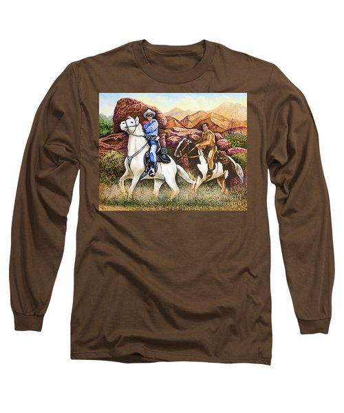 Lone Ranger And Tonto Ride Again Long Sleeve T-Shirt