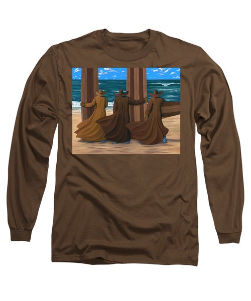 A Long Ride West Long Sleeve T-Shirt