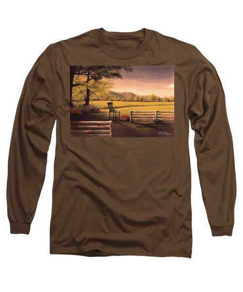 Lonsesome Chair Long Sleeve T-Shirt