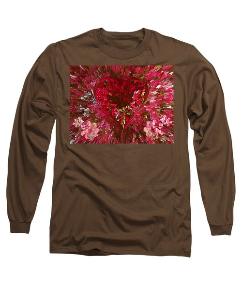 Look Deep Into My Heart Long Sleeve T-Shirt