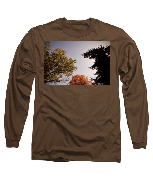 Looking Down On Us Long Sleeve T-Shirt by Photographic Arts And Design Studio
