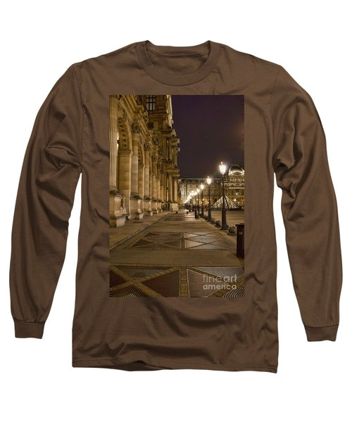 Louvre Courtyard Long Sleeve T-Shirt
