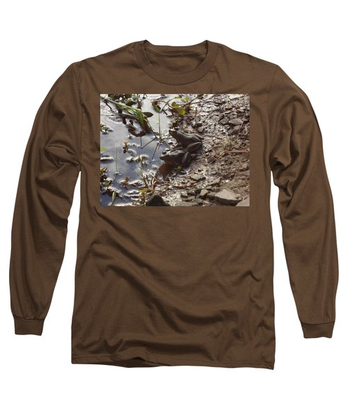 Long Sleeve T-Shirt featuring the photograph Love Frogs by Michael Porchik