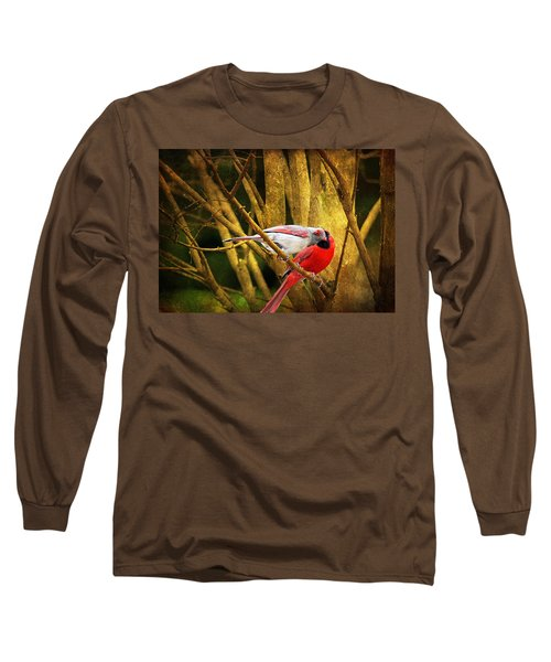 Long Sleeve T-Shirt featuring the photograph Love In A Dark World by Trina  Ansel