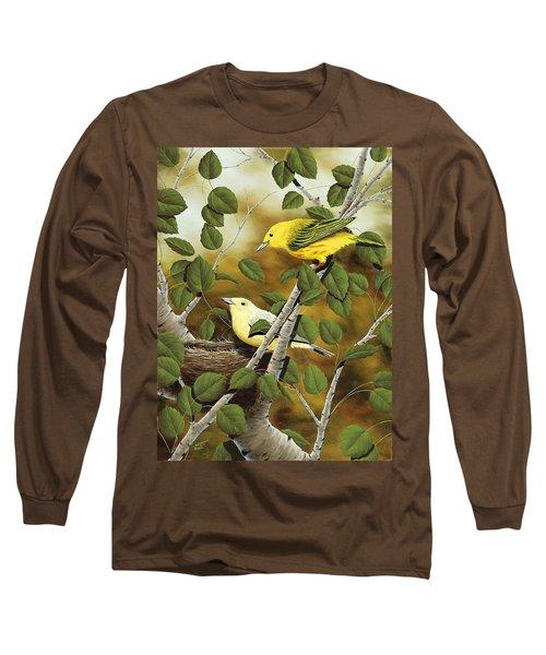 Love Nest Long Sleeve T-Shirt by Rick Bainbridge
