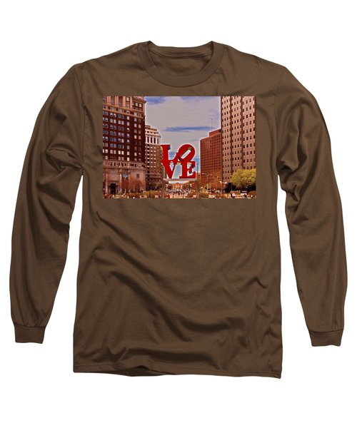 Love Sculpture - Philadelphia - 2 Long Sleeve T-Shirt