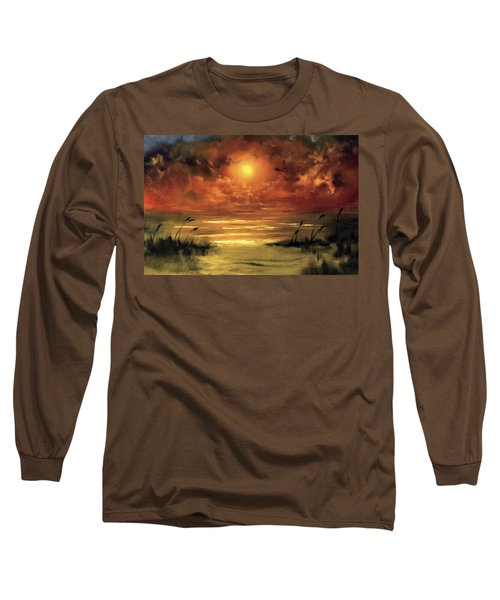 Lovers Sunset Long Sleeve T-Shirt