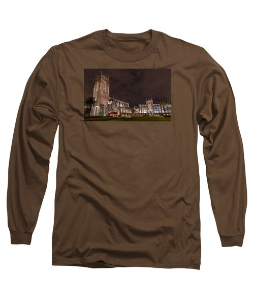 Long Sleeve T-Shirt featuring the photograph Loyola University New Orleans by Tim Stanley