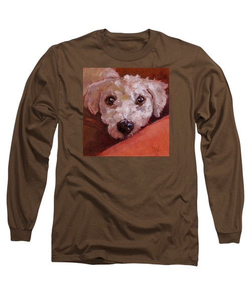Lucky Long Sleeve T-Shirt by Pattie Wall