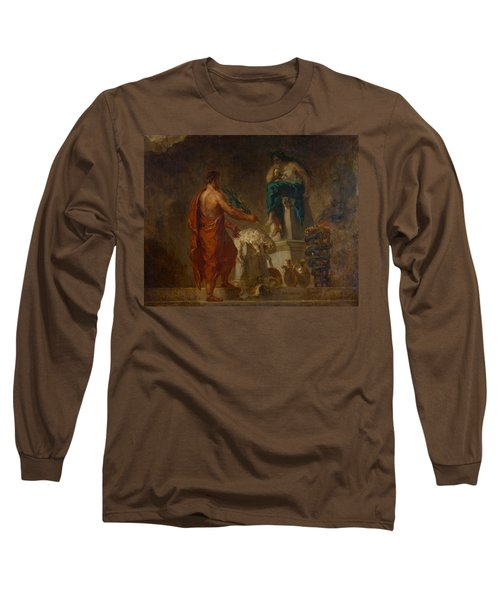 Lycurgus Consulting The Pythia Long Sleeve T-Shirt by Eugene Delacroix