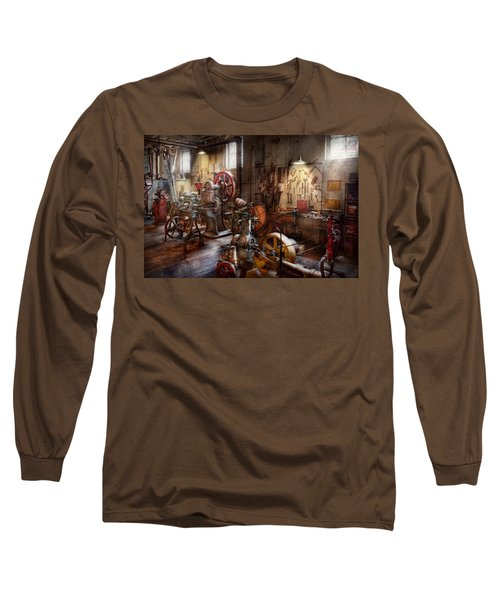Machinist - A Room Full Of Memories  Long Sleeve T-Shirt