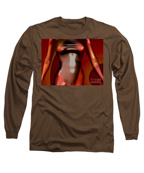 0 -mademoiselle Contenu Chocolate  Long Sleeve T-Shirt