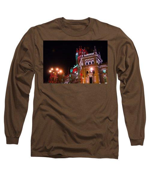 Madrid City Hall Long Sleeve T-Shirt