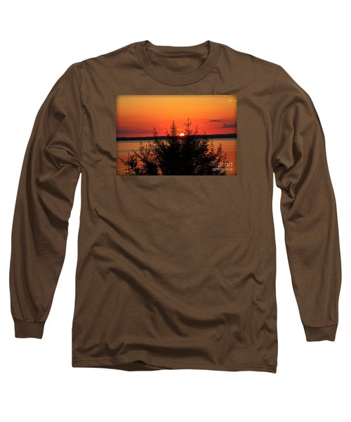 Long Sleeve T-Shirt featuring the photograph Magic At Sunset by Ella Kaye Dickey