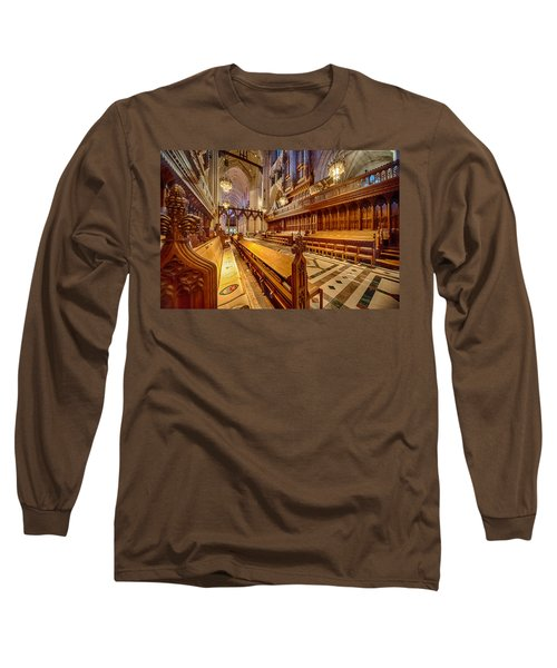 Magnificent Cathedral I Long Sleeve T-Shirt