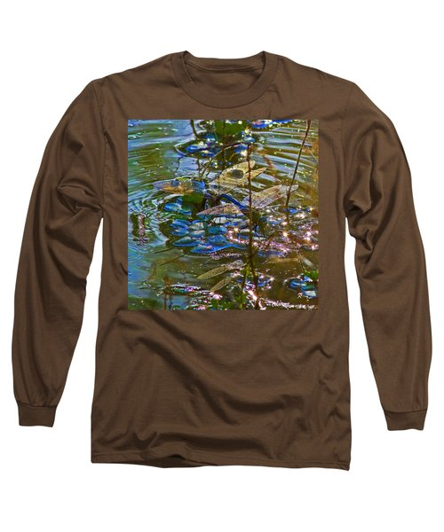 Long Sleeve T-Shirt featuring the photograph Making A Deposit For The Future by Gary Holmes