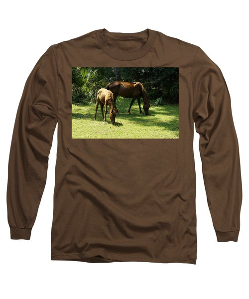 Mama And Baby Long Sleeve T-Shirt
