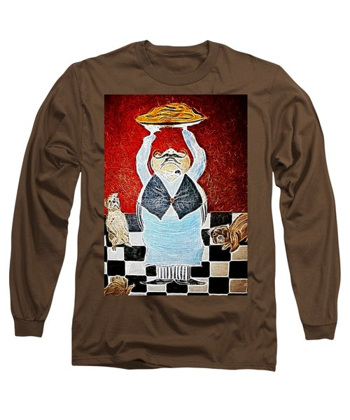 Mamas Pizza Man Long Sleeve T-Shirt