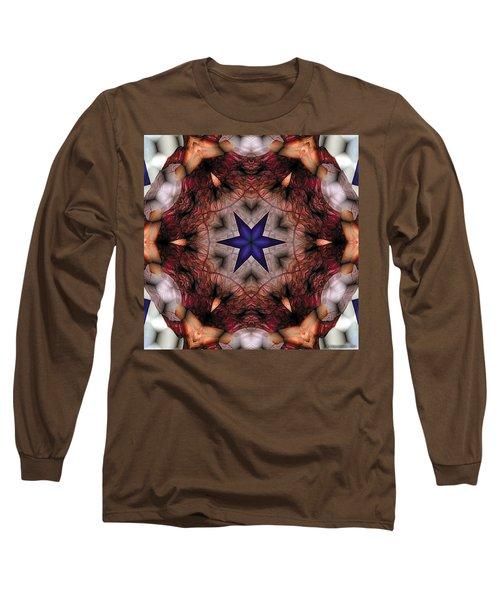 Long Sleeve T-Shirt featuring the digital art Mandala 14 by Terry Reynoldson