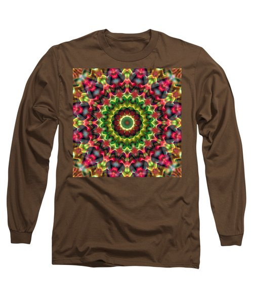 Long Sleeve T-Shirt featuring the digital art Mandala 70 by Terry Reynoldson