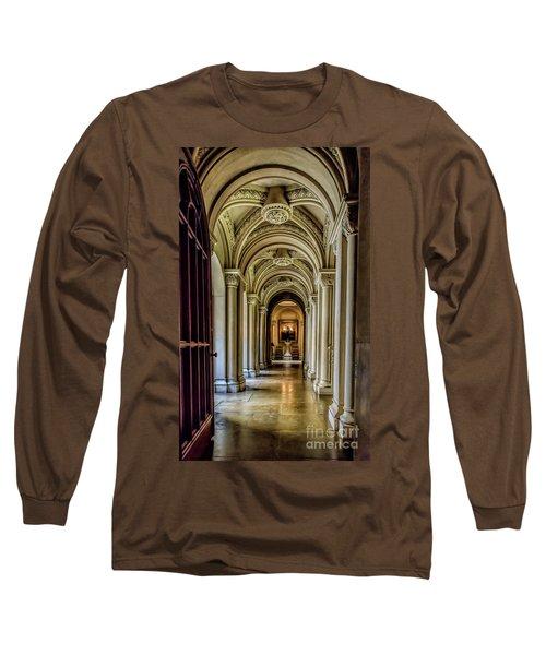 Mansion Hallway Long Sleeve T-Shirt