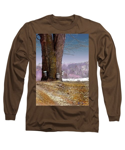 Maple Buckets Long Sleeve T-Shirt