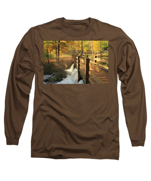 Maramec Bridge And Falls Long Sleeve T-Shirt
