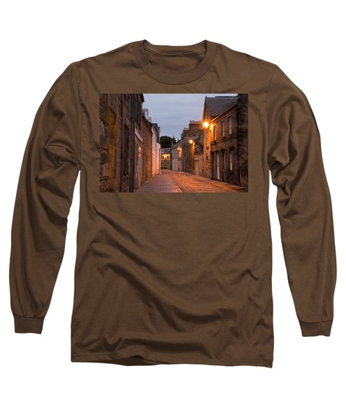 Market Street At Dusk Long Sleeve T-Shirt by Jeremy Voisey