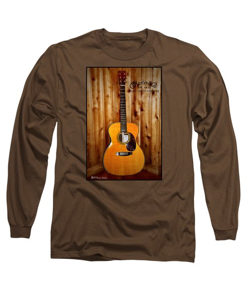 Martin Guitar - The Eric Clapton Limited Edition Long Sleeve T-Shirt by Bill Cannon