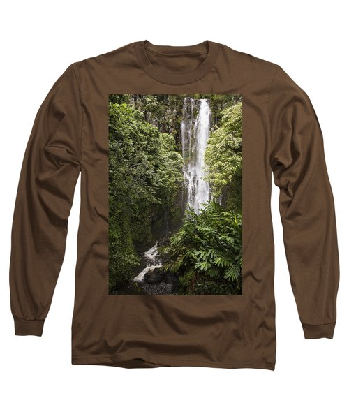 Maui Waterfall Long Sleeve T-Shirt