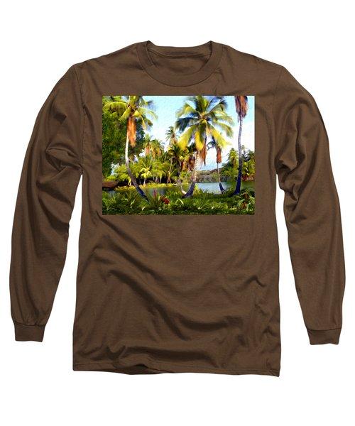 Mauna Lani Fish Ponds Long Sleeve T-Shirt
