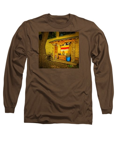 May All Beings Be Free From Suffering Long Sleeve T-Shirt by MJ Olsen