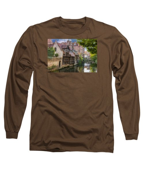 Medieval Bruges Long Sleeve T-Shirt by Juli Scalzi