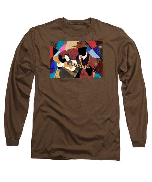 Memphis Blues Long Sleeve T-Shirt by Everett Spruill