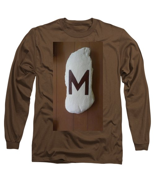 Long Sleeve T-Shirt featuring the painting Menominee Maroons by Jonathon Hansen