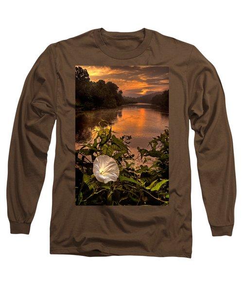 Meramec River At Chouteau Claim Long Sleeve T-Shirt