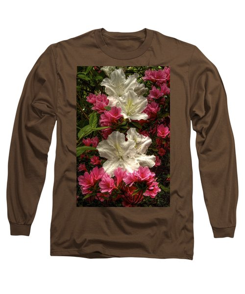 Merging Azaleas  Long Sleeve T-Shirt