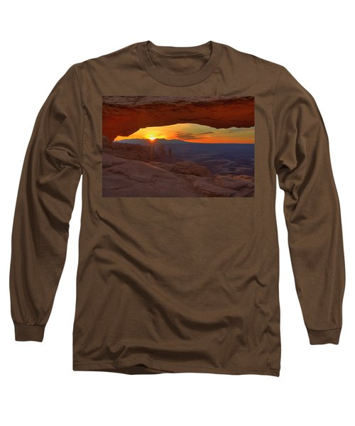 Mesa Arch Sunrise Long Sleeve T-Shirt