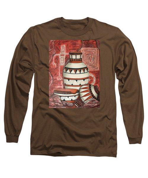 Messages Long Sleeve T-Shirt by Kim Jones