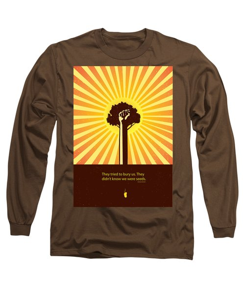 Mexican Proverb Minimalist Poster Long Sleeve T-Shirt