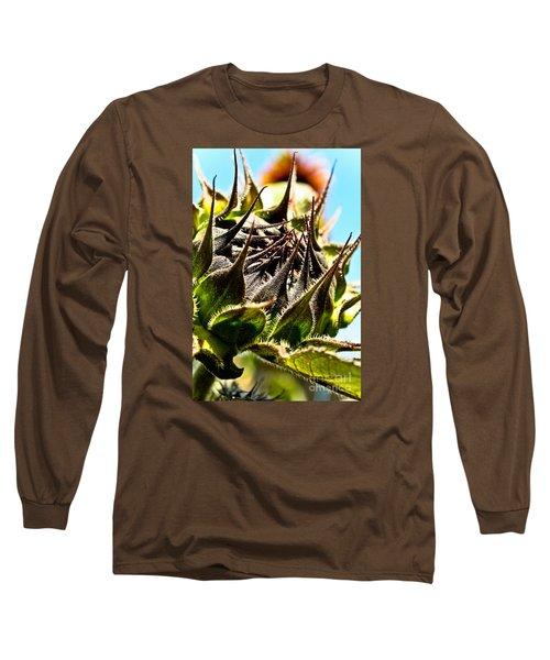 Mexican Sunflower Long Sleeve T-Shirt by Joel Loftus
