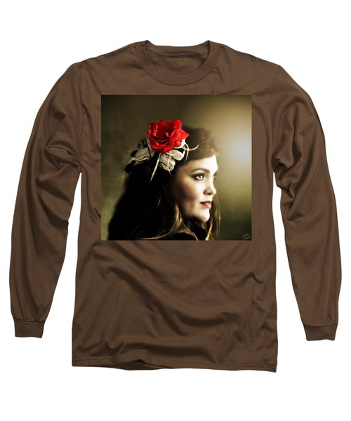 Michelle Bailey Long Sleeve T-Shirt by Ally  White
