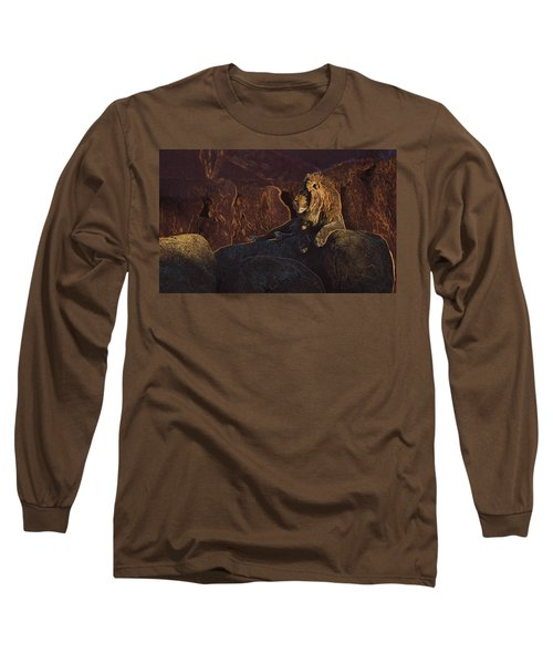 Long Sleeve T-Shirt featuring the photograph Mister Majestic by David Andersen