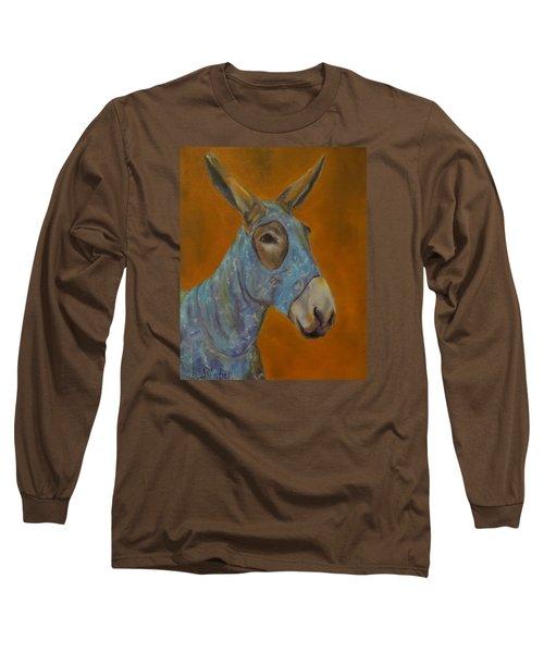 Mo Vision,donkey Long Sleeve T-Shirt