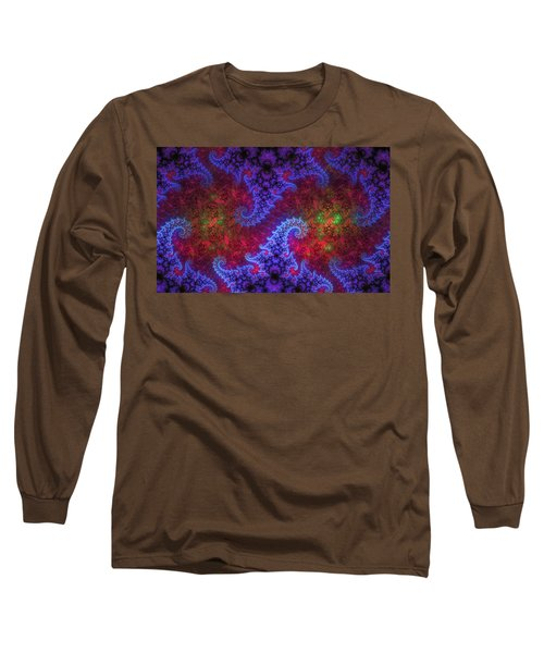 Long Sleeve T-Shirt featuring the digital art Mobius Unleashed by GJ Blackman