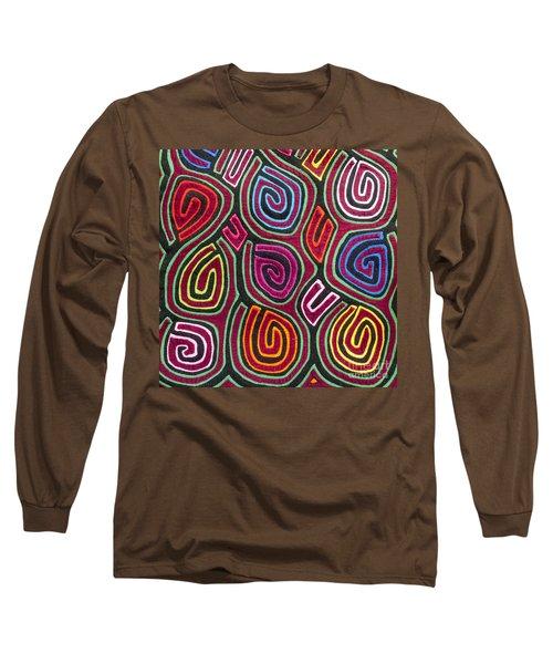 Mola Art Long Sleeve T-Shirt by Heiko Koehrer-Wagner