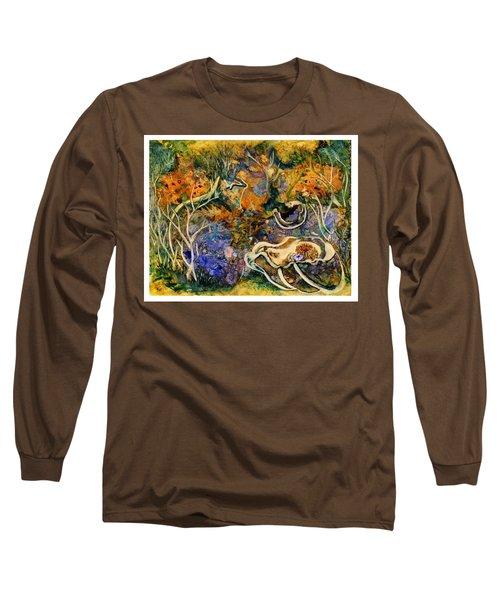 Monet Under Water Long Sleeve T-Shirt